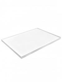 Рама для фитокартины Alure l-profile ral 9010 mat two parts Длина — 250 см  Высота — 100 см