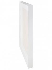 Рама для фитокартины Stiel l-profile ral 9010 mat Длина — 100 см  Высота — 5 см