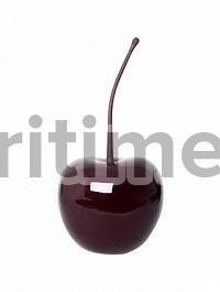 Вишня декоративная Cherry glazed red, красного цвета S размер  Диаметр — 23 см Высота — 27 см