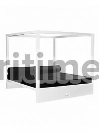 Кушетка Fiberstone jan des bouvrie glossy white, белого цвета daybed Длина — 207 см  Высота — 200 см