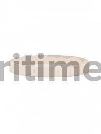 Поддон Pottery Pots Refined gaia S размер natural white, белого цвета  Диаметр — 40 см Высота — 5 см