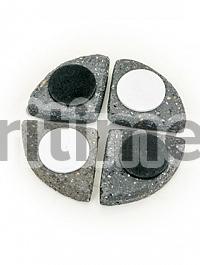 Подножки Fiberstone accessoires laterite grey, серого цвета pot feet (4)