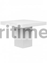 Стол Fiberstone glossy white, белого цвета table S размер Длина — 100 см  Высота — 77 см