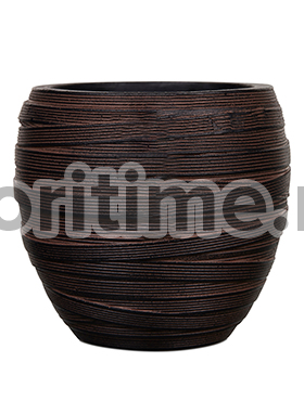 Кашпо Capi nature vase elegant iii loop i brown