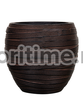 Кашпо Capi nature vase elegant i loop brown