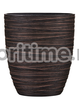 Кашпо Capi nature planter oval iii loop brown