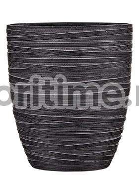 Кашпо Capi nature planter oval iii loop black
