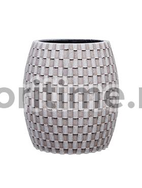 Кашпо Capi nature vase elegant wide iii wave ivory