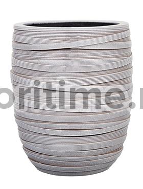 Кашпо Capi nature vase elegant high ii loop ivory