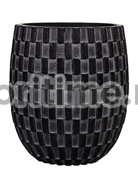 Кашпо Capi nature vase elegant high ii wave black