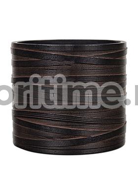 Кашпо Capi nature vase cylinder ii loop brown