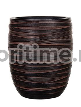 Кашпо Capi nature vase elegant high i loop brown