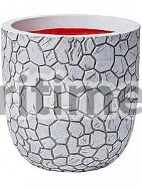 Кашпо Capi Nature clay nl planter ball ivory, цвет слоновая кость диаметр - 43 см высота - 41 см