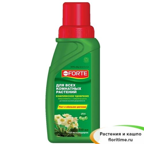 Bona Forte Удобрение для всех комнатных растений (285 мл)