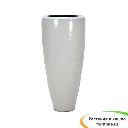 Кашпо Partner, керамика, белый