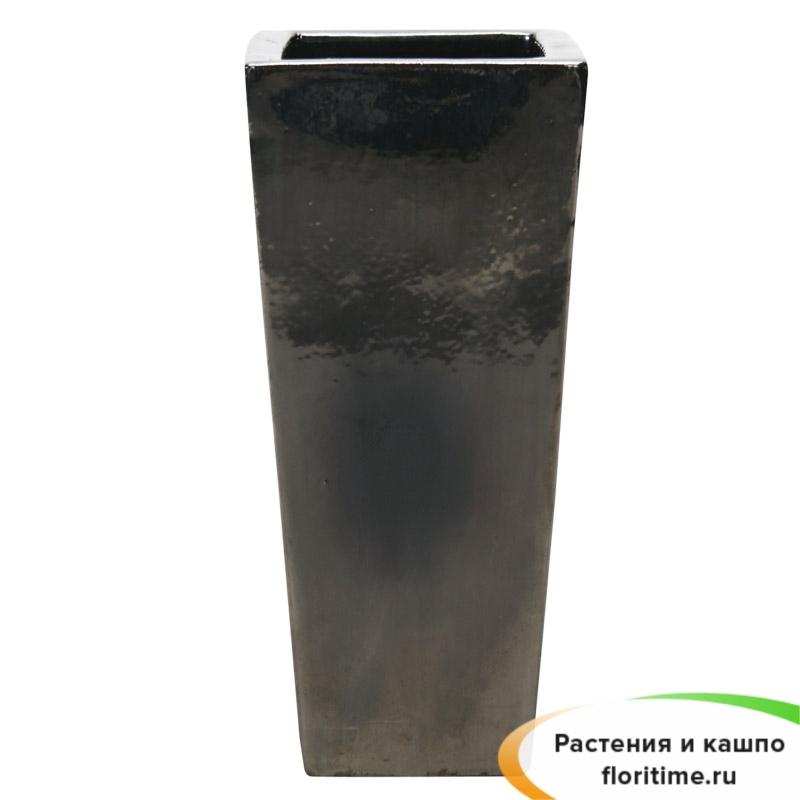 Кашпо Metal glaze Kubis, керамика