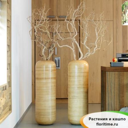 Кашпо NATURA VESPUCCI planter, стекловолокно