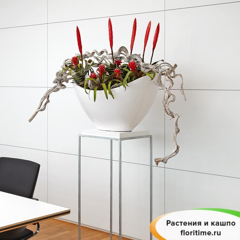 Кашпо ASTRO SOLAR planter, смола