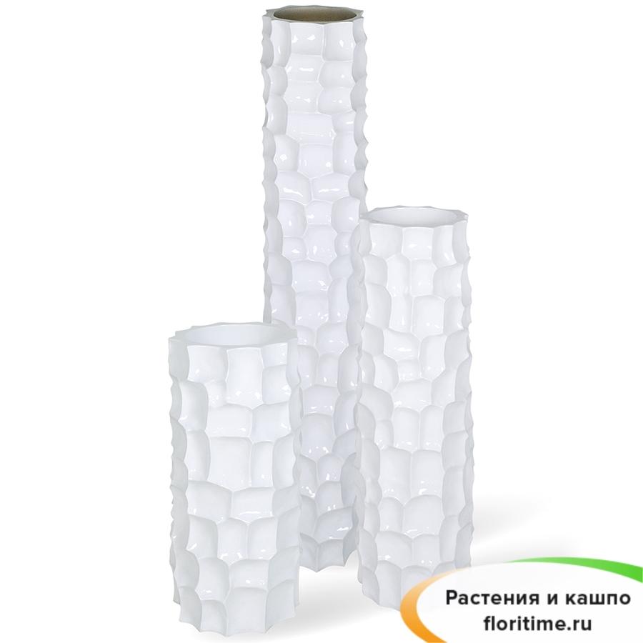 Кашпо MOSAIC Planting Column, смола