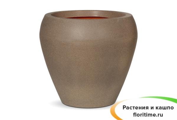 Кашпо Capi Tutch Vase Tapering Round, Camel
