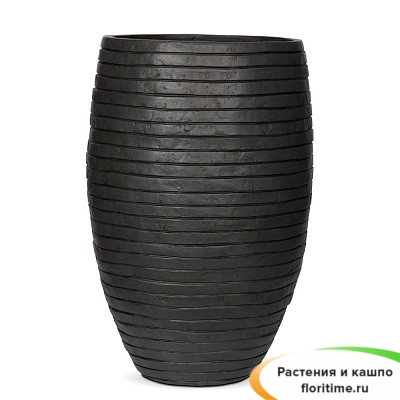 Кашпо Capi Nature Vase Elegant Deluxe Row, anthracite
