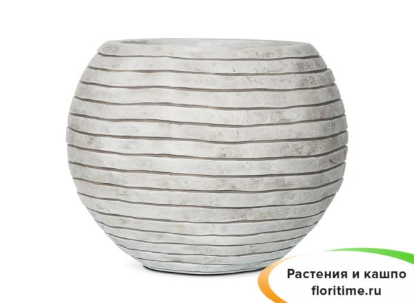 Кашпо Capi Nature Vase Ball Row, Ivory