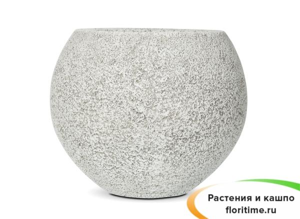 Кашпо Capi Nature Vase Ball Brix, Ivory