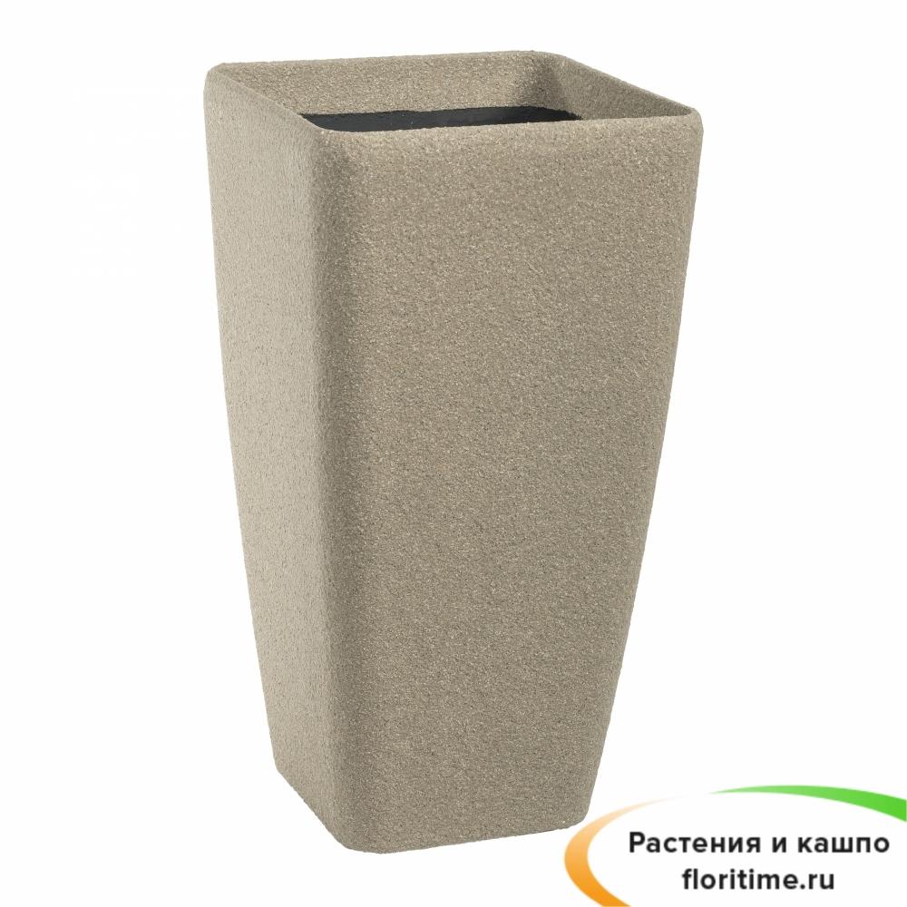 Кашпо Composite Conic Vase, полистоун