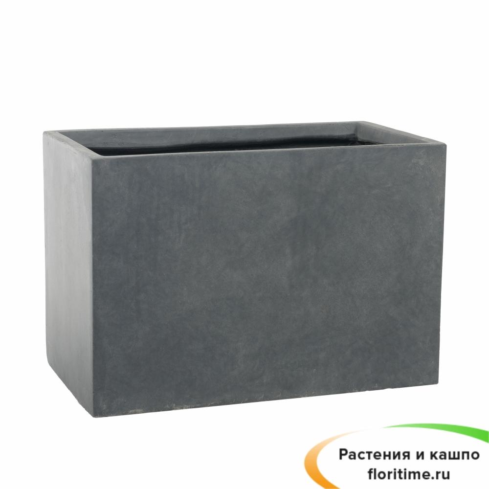 Кашпо Basic Polycube, конкрит
