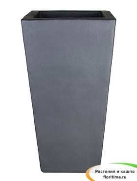 Кашпо Anthracite kubis