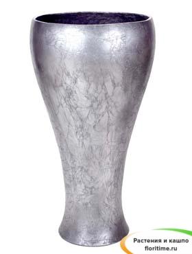 Кашпо Сavaleiro Vase, старое серебро