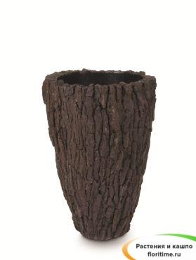 Кашпо Scorza partner, сосновая кора