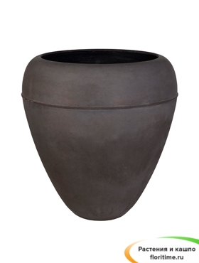 Кашпо Alegria Egg, серый