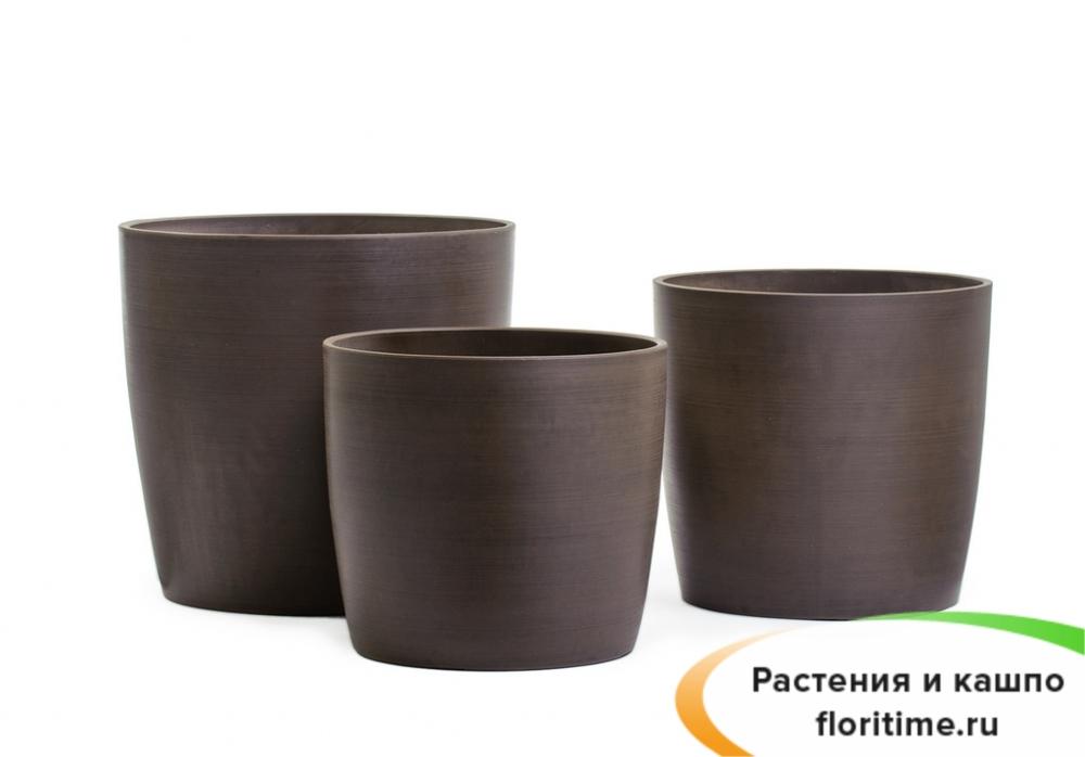 Кашпо Rokku, шоколад