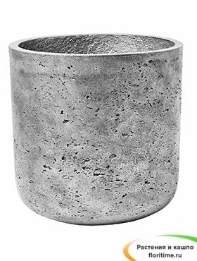 Кашпо Eco-line Charlie, серебро