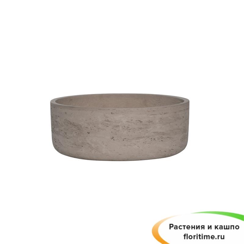 Кашпо Eco-line Ethan, серый