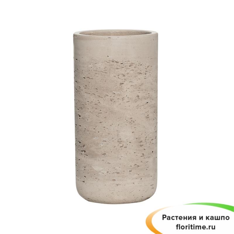 Кашпо Eco-line Caitlin, серый