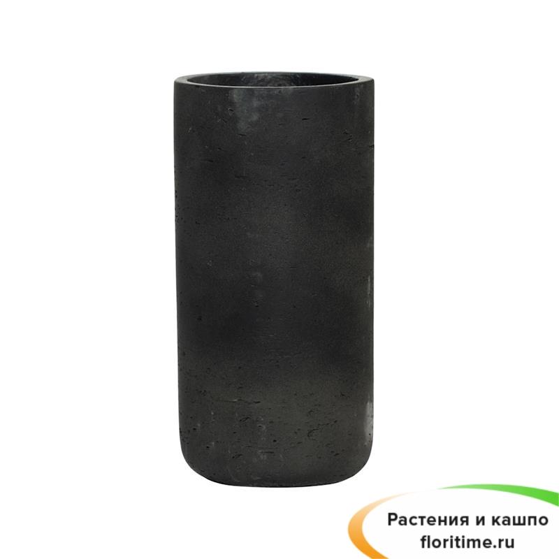 Кашпо Eco-line Caitlin, черный