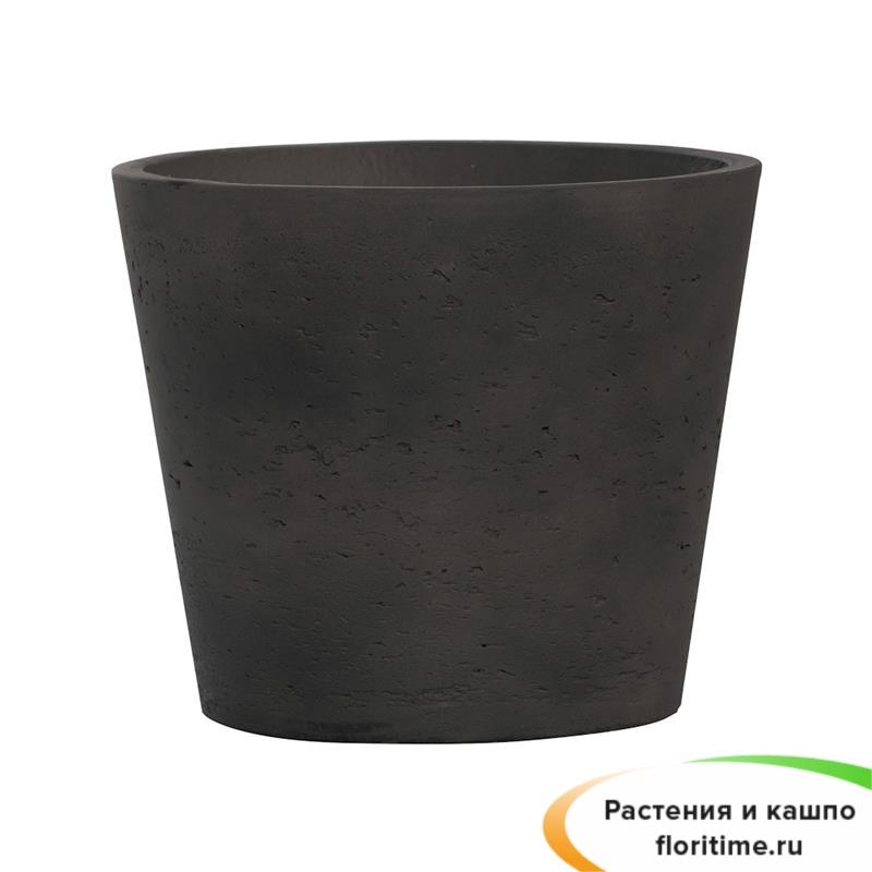 Кашпо Мini bucket, черный