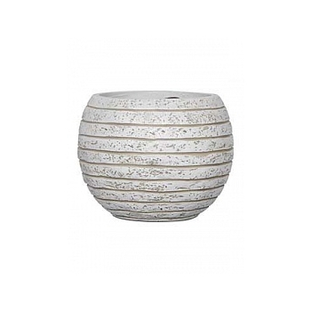 Кашпо Capi Nature row vase ball ill ivory, слоновая кость