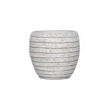 Кашпо Capi Nature row vase elegant li ivory, слоновая кость