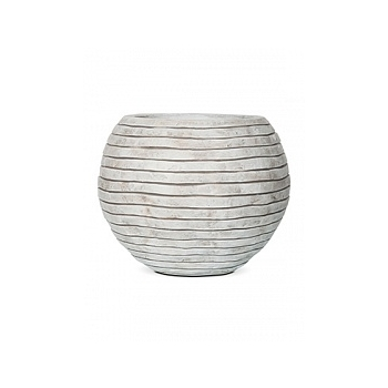 Кашпо Capi Nature row vase round ivory, слоновая кость