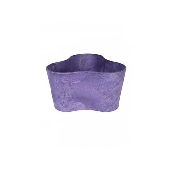 Кашпо Artstone clair triangle grape Длина — 26 см