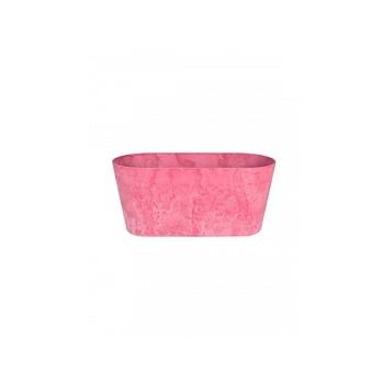 Кашпо Artstone claire balcony розовый Длина — 38 см