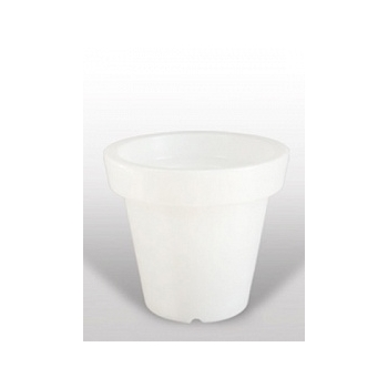Кашпо Bloom! Holland white, белого цвета without light Диаметр — 60 см
