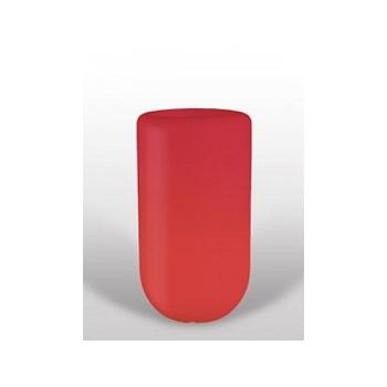 Светящееся Кашпо Bloom! Holland pill red, красного цвета Диаметр — 50 см