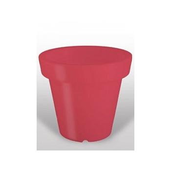 Светящееся Кашпо Bloom! Holland red, красного цвета Диаметр — 99 см