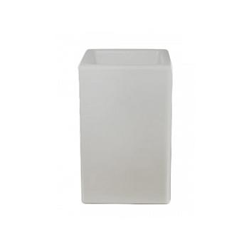 Светящееся Кашпо Bloom! Holland square grey, серого цвета Длина — 50 см