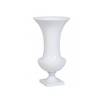 Ваза Fleur Ami Cesare white, белого цвета  Диаметр — 34 см