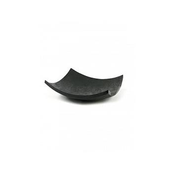 Блюдо Plants First Choice Element black, чёрного цвета bowl square Длина — 61 см